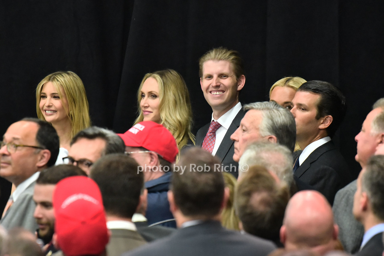 Ivanka Trump, Lara Trump, Eric Trump , Donald Trump jr.