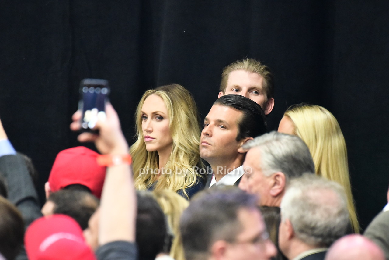 Lara Trump, Donald Trump Jr.
