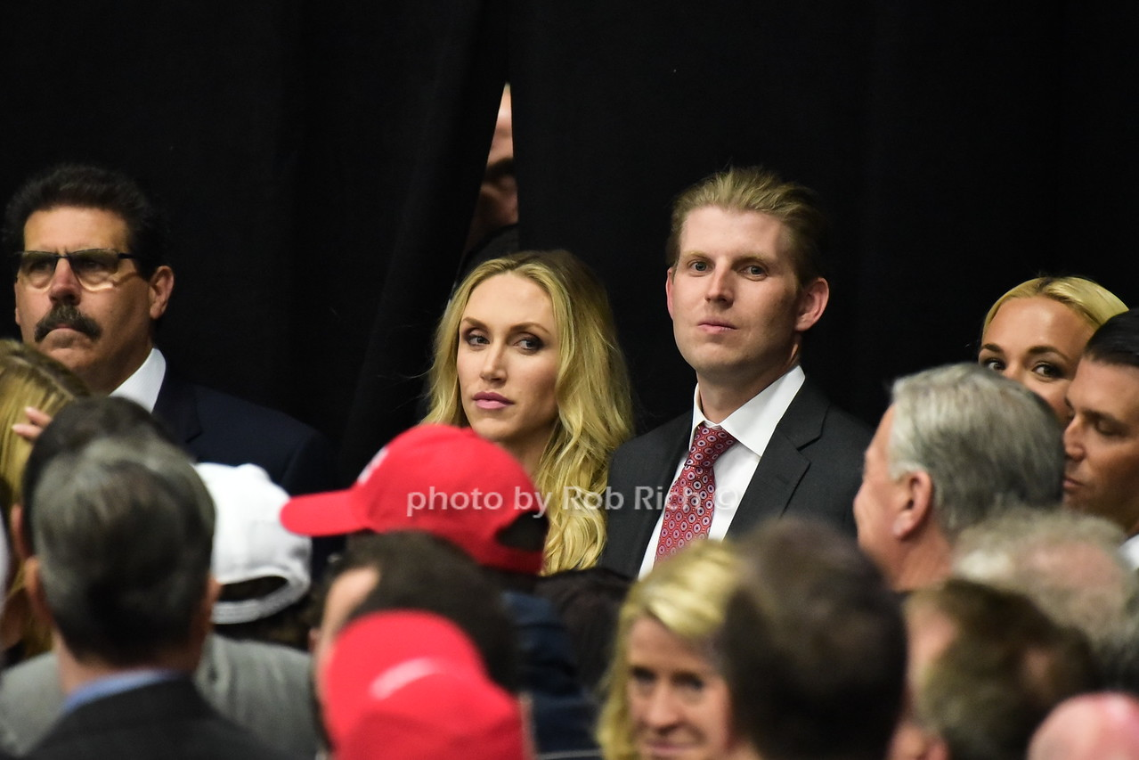 Lara Trump, Eric Trump  