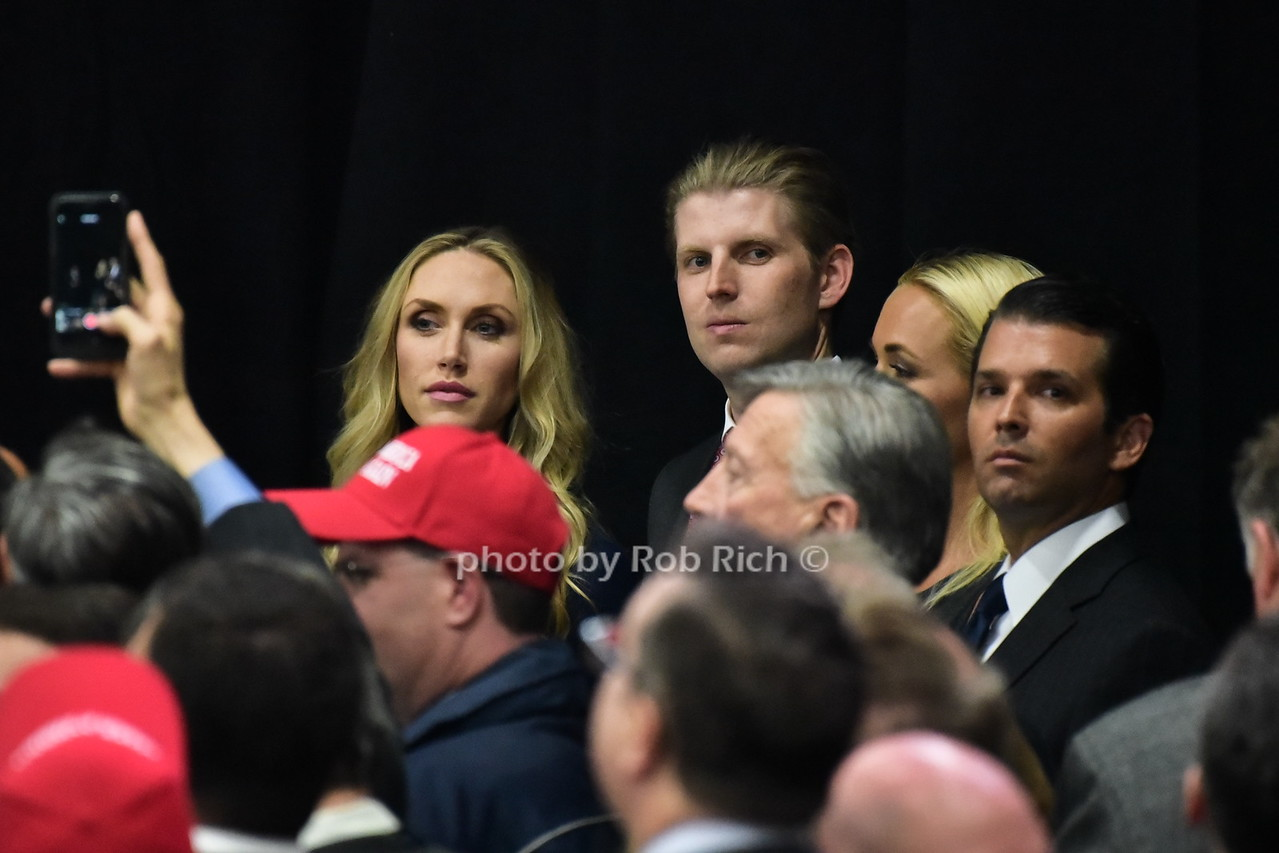Lara Trump, Eric Trump , Donald Trump jr.photo by Rob Rich/SocietyAllure.com © 2016 robwayne1@aol.com 516-676-3939