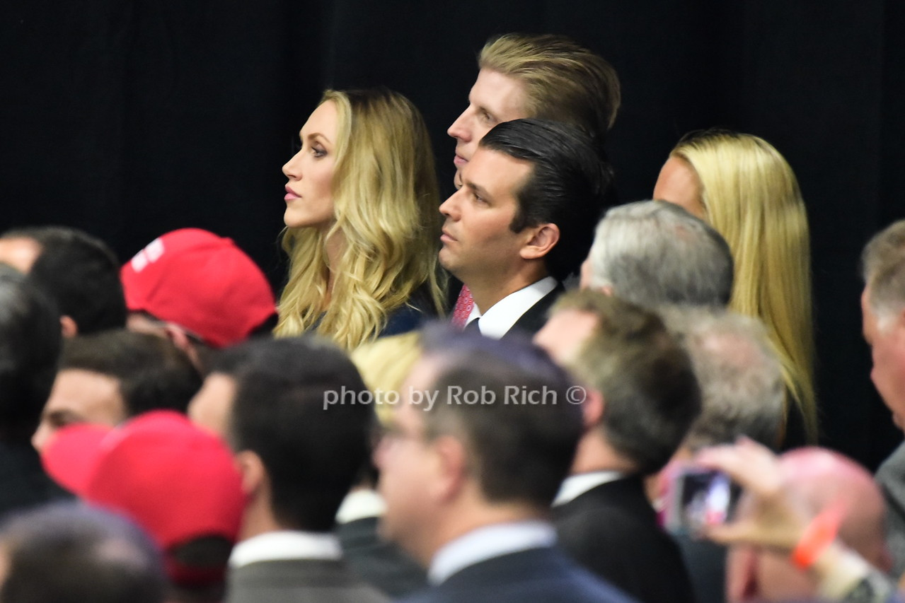 Lara Trump, Eric Trump, Donald Trump Jr.