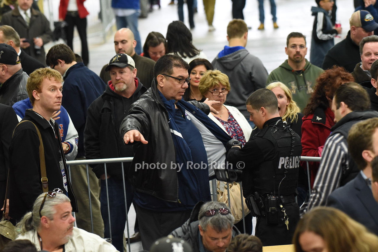 security check at press entrancephoto by Rob Rich/SocietyAllure.com © 2016 robwayne1@aol.com 516-676-3939