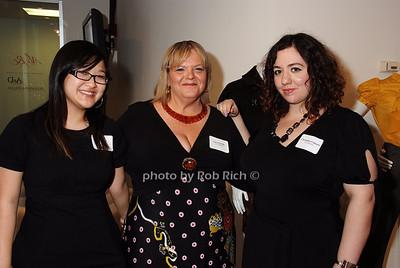 guest, Carol Ientile, Christine Galasso  photo by Rob Rich © 2008 robwayne1@aol.com 516-676-3939