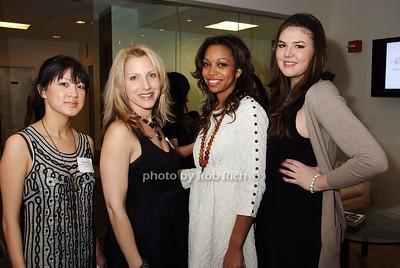 Elena Hui, Stacy Esser, Crystal White, Alanna Viciosa  photo by Rob Rich © 2008 robwayne1@aol.com 516-676-3939