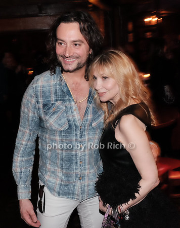 Constantine Maroulis, Maureen Van Zandt photo by Rob Rich/SocietyAllure.com ©2017 robrich101@gmail.com 516-676-3939