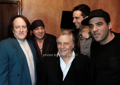 Tommy James,Stevie Van Zandt,Eddie Brigati,Nick Cordero,Bobby Cannavale, photo by Rob Rich/SocietyAllure.com ©2017 robrich101@gmail.com 516-676-3939