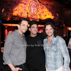 Nick Cordero,Bobby Cannavale,Constantine Maroulis photo by Rob Rich/SocietyAllure.com ©2017 robrich101@gmail.com 516-676-3939