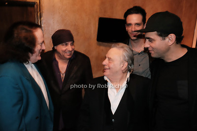 Tommy James,Stevie Van Zandt,Eddie Brigati,Nick Cordero,Bobby Cannavale photo by Rob Rich/SocietyAllure.com ©2017 robrich101@gmail.com 516-676-3939