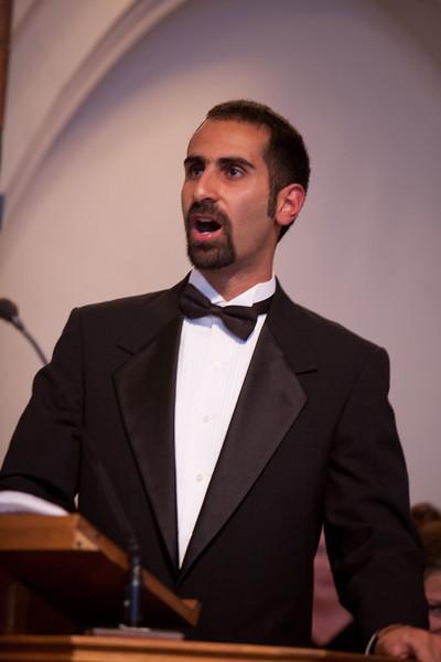 Fahad Siadat, Guest Tenor Soloist