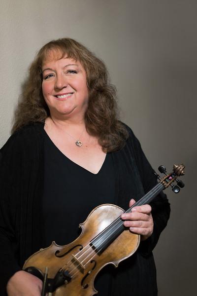 Trudy Gonzales, Violin