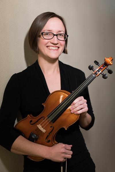 Danielle Cates, Violin