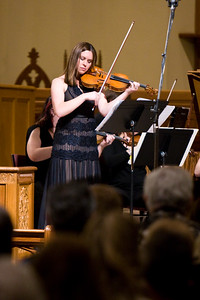 Ruth Lenz, Guest Violinist