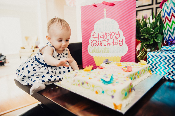 Eve's First Birthday