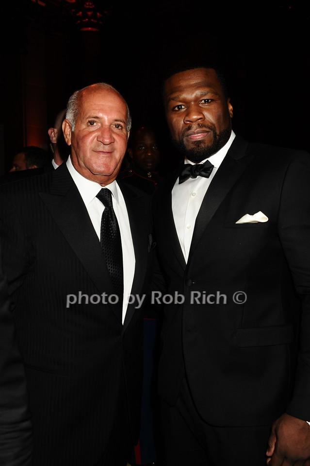 "Ronnie ""Copa"" Nistico, 50 Cent photo by Rob Rich/SocietyAllure.com © 2016 robwayne1@aol.com 516-676-3939"