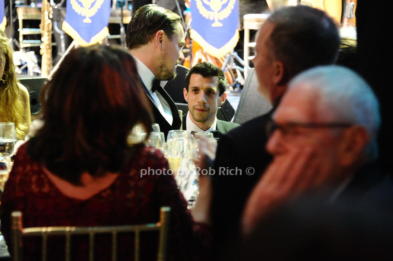 Leonardo speaks with Mr.Viola photo by Rob Rich/SocietyAllure.com © 2016 robwayne1@aol.com 516-676-3939