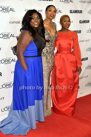 Danielle Brooks, Jennifer Hudson and Cynthia Erivo photo by Rob Rich/SocietyAllure.com © 2015 robwayne1@aol.com 516-676-3939