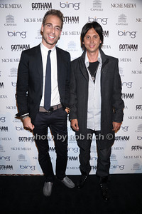 Simon Huck, Jonathan Cheban photo by Rob Rich © 2010 robwayne1@aol.com 516-676-3939