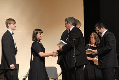 May 12, 2009 Harrison High School Band Performance Graff Auditorium
