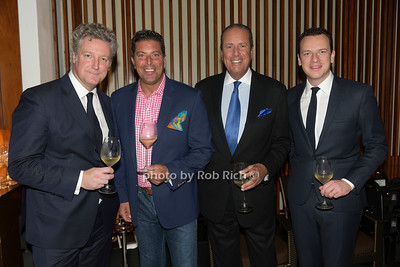 Yves de Launey, Ted  Mandes Jr., Ted Mandes, Nicholas Mc Ewan  photo by Rob Rich/SocietyAllure.com ©2018 robrich101@gmail.com 516-676-3939