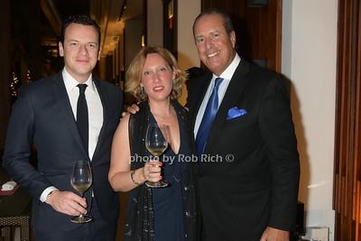 Nicholas Mc Ewan, Olivia Giuntini, Ted Mandes    photo by Rob Rich/SocietyAllure.com ©2018 robrich101@gmail.com 516-676-3939