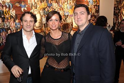 David Hryck, Marina Makanova, Leon Medzhibovsky photo by Rob Rich © 2010 robwayne1@aol.com 516-676-3939