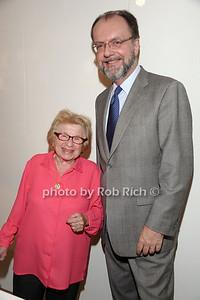 Dr. Ruth Westheimer, Hugh Locke photo by Rob Rich © 2010 robwayne1@aol.com 516-676-3939