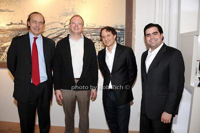 Paolo Grassi, Robert Beynon, David Hryck, Hernan Gonzalez photo by Rob Rich © 2010 robwayne1@aol.com 516-676-3939