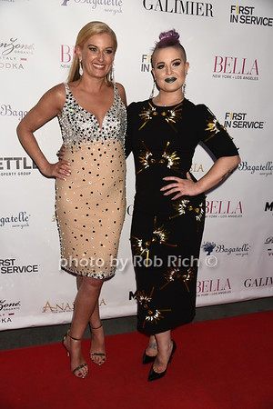 Courtney C. Hall ( editor in chief of BELLA magazine), Kelly Osbourne photo by Rob Rich/SocietyAllure.com ©2017 robrich101@gmail.com 516-676-3939