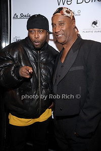 Black Rob, Paul Mooney photo by Rob Rich © 2010 robwayne1@aol.com 516-676-3939