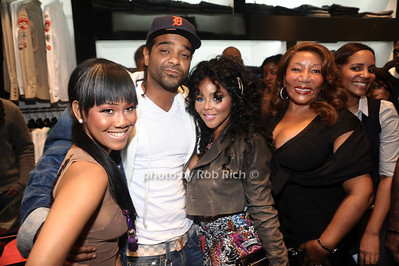 Lil B, Jim Jones, Lil Kim, Rose Cordon photo by Rob Rich © 2010 robwayne1@aol.com 516-676-3939