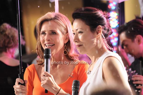 Meredith Viera, Ann Curry<br /> photo by Rob Rich © 2010 robwayne1@aol.com 516-676-3939