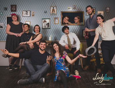 LindyLicious 2018 Photobooth - Pictures by LIGHT EX MACHINA - Scenery by the LindyLicious team
