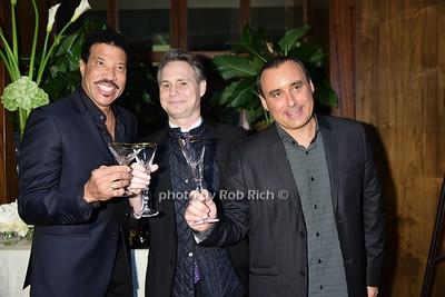 Lionel Richie, Jason Binn, Rob Berman