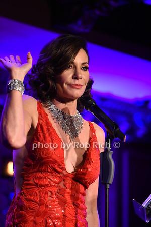 Luann de Lesseps cabaret act at Feinstein's 54 Below in NYC