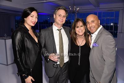 Mary Chao, Jason Binn, Sande Finkel, Vincent Gaudioso photo by Rob Rich/SocietyAllure.com © 2015 robwayne1@aol.com 516-676-3939