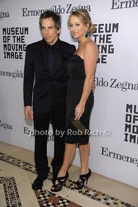Ben Stiller, Christine Taylor photo by Rob Rich © 2011 robwayne1@aol.com 516-676-3939