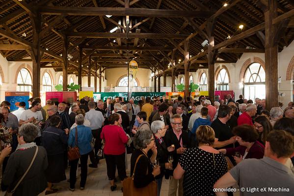Festivités pour les 10 ans de l'AOC Valençay à la Halle au Blé