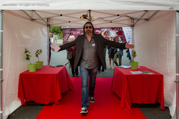 Bibo Bergeron, président du Grand Jury, lance le festival
