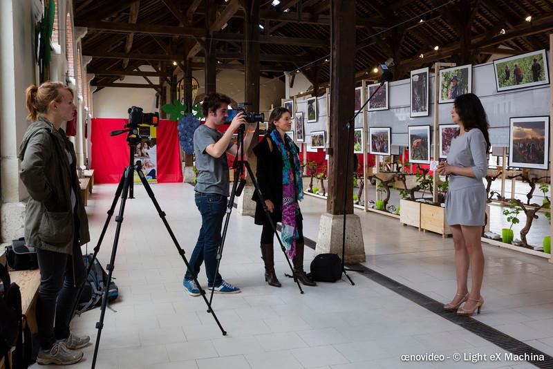 """Interview de Jia Liu, membre du jury oenovidéo, dans le cadre de l'exposition photographie """"Terroirs d'images"""""""