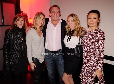 Nicole Miller, guest, Harry Dubin, Ramona Singer, Rebecca Woodland
