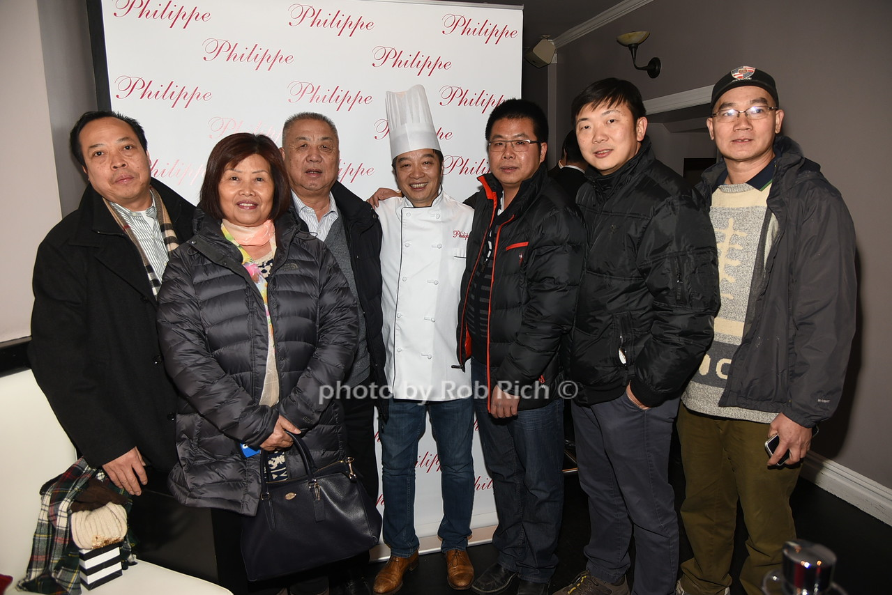 Philippe Chow and friends photo by Rob Rich/SocietyAllure.com © 2016 robwayne1@aol.com 516-676-3939