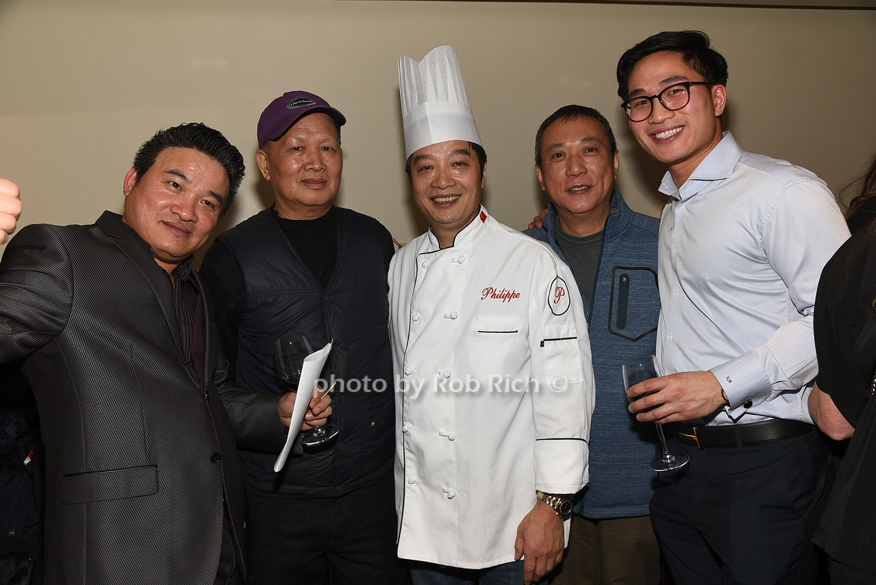 Chef Philippe Chow and friends