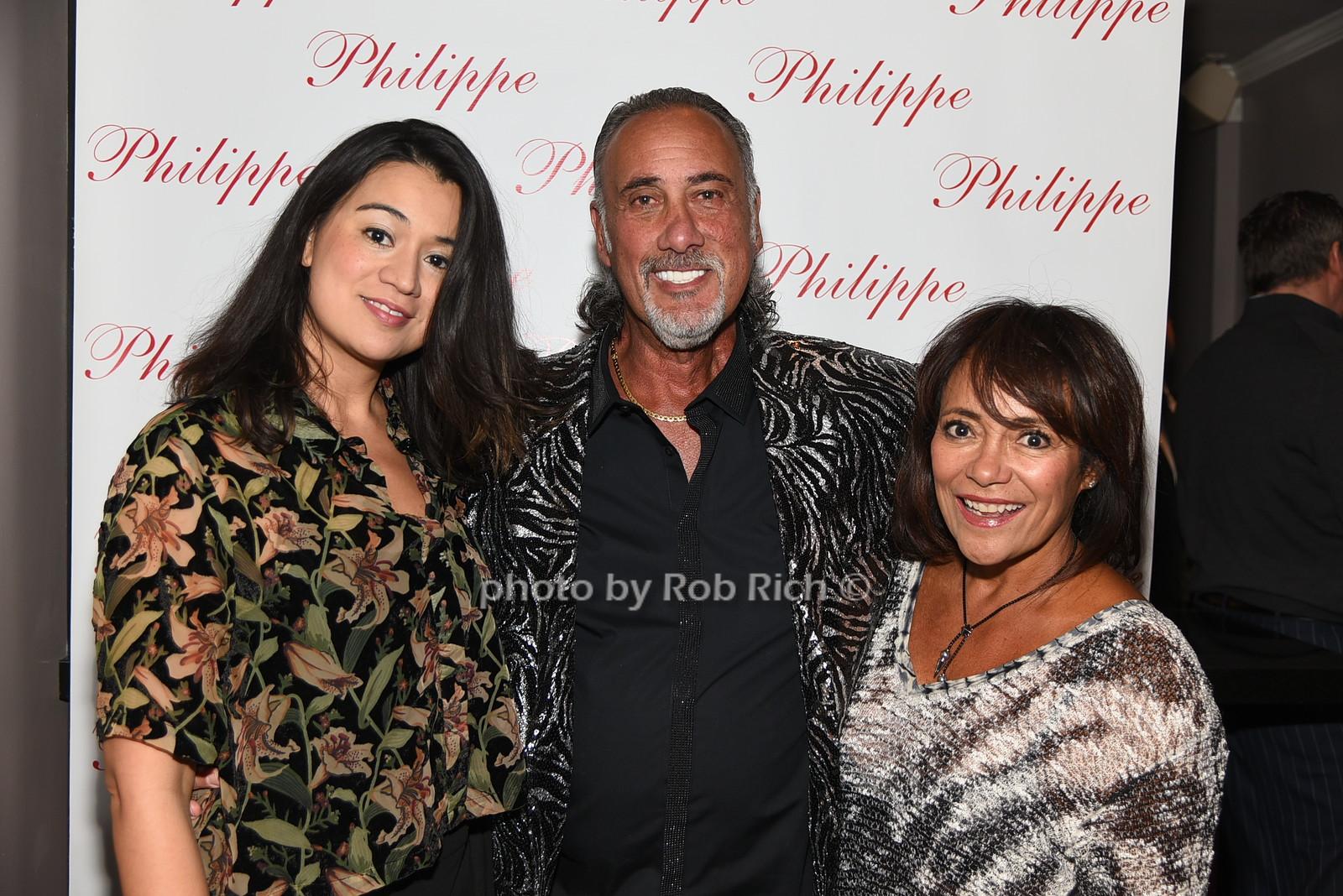 Tatiana Acosta, Stew Davidoff, Sandra Davidoff photo by Rob Rich/SocietyAllure.com © 2016 robwayne1@aol.com 516-676-3939