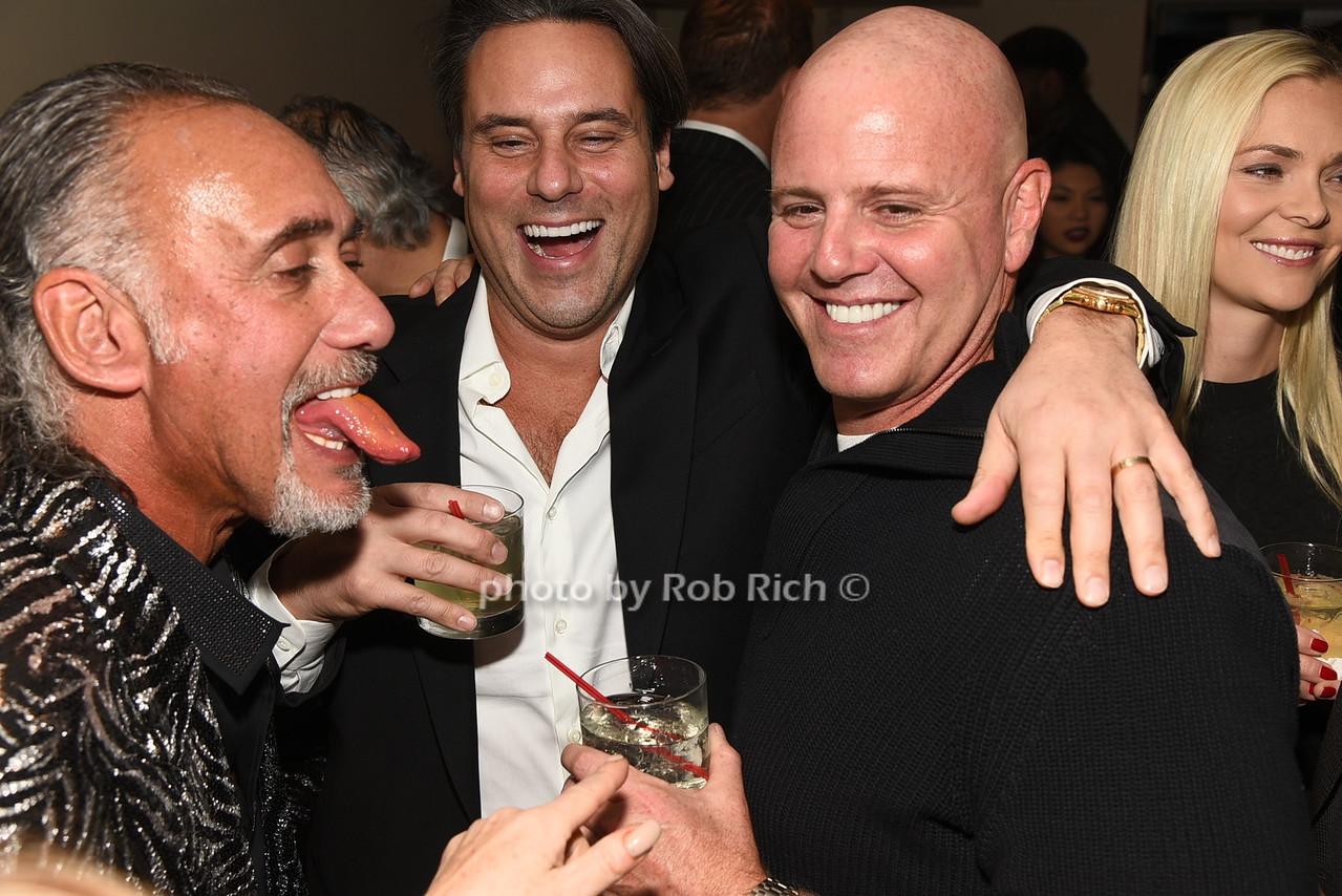 Stew Davidoff, Michael Gabriel, Ian Behar photo by Rob Rich/SocietyAllure.com © 2016 robwayne1@aol.com 516-676-3939