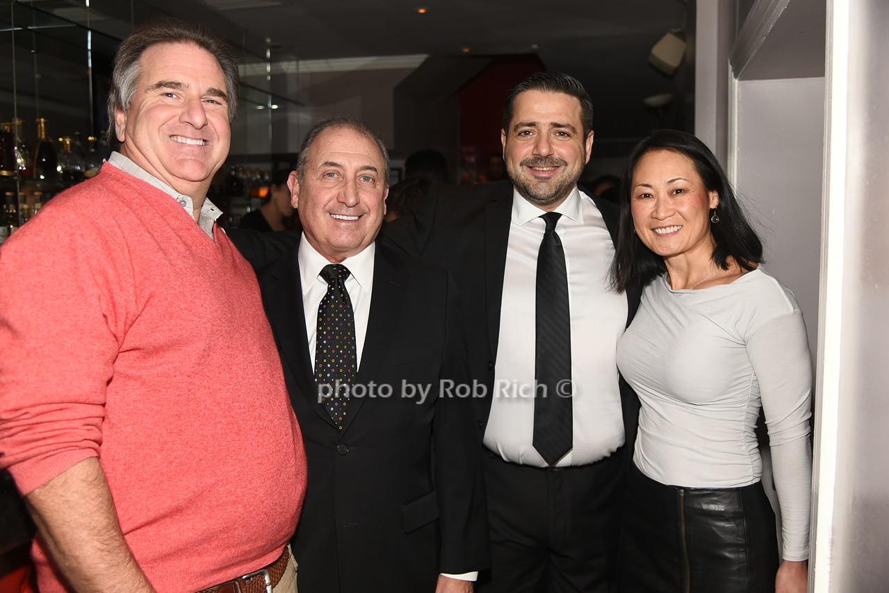 Gary , Steve Boxer, Kostas Paterakis,  Joy  photo by Rob Rich/SocietyAllure.com © 2016 robwayne1@aol.com 516-676-3939