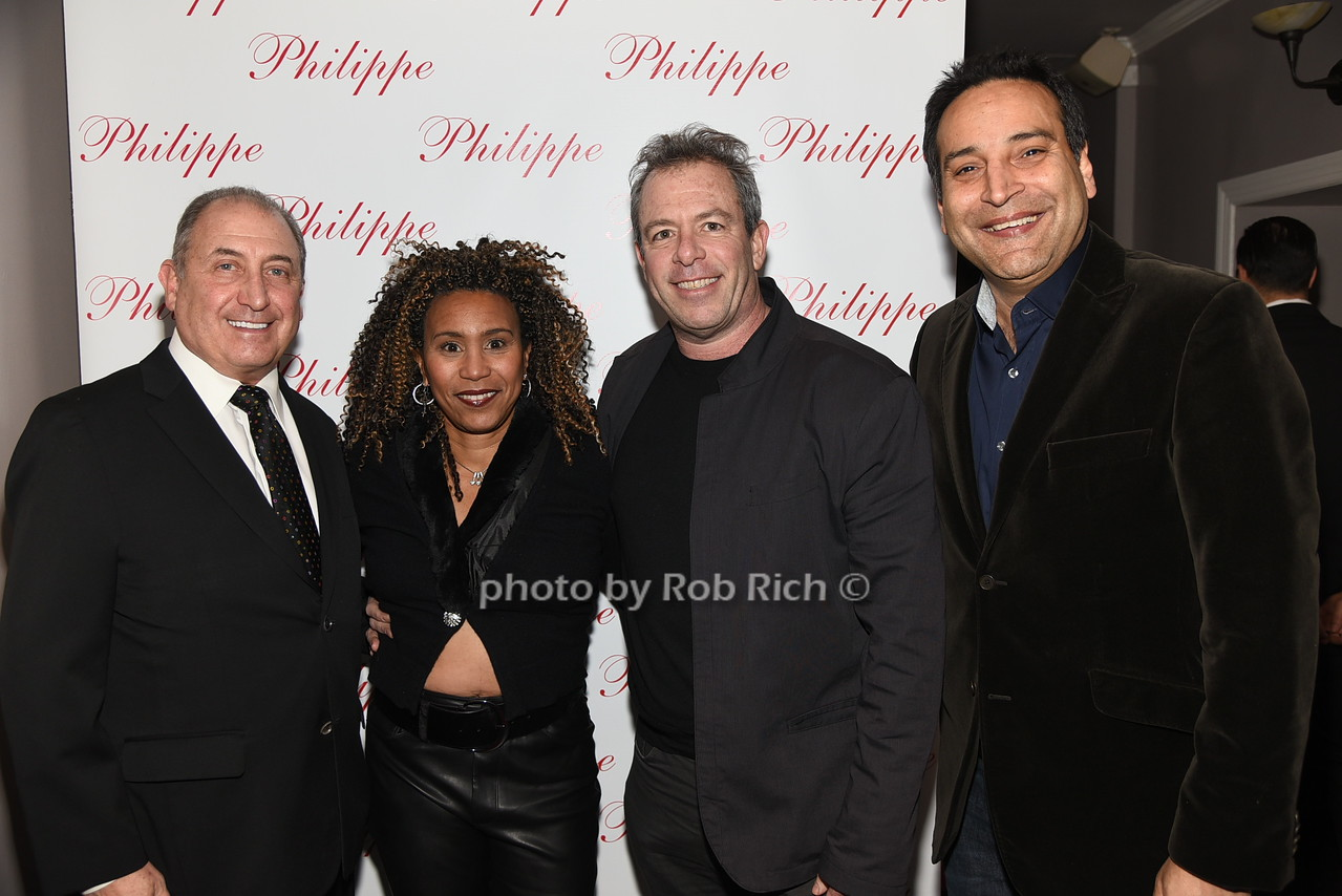 Steve Boxer, Monica Cohn. Richard Cohn, Abraham Merchant