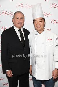 Steve Boxer, Chef Philippe Chow photo by Rob Rich/SocietyAllure.com © 2016 robwayne1@aol.com 516-676-3939