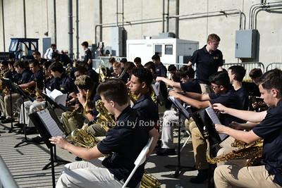 Xavier High School Band photo by Rob Rich/SocietyAllure.com © 2015 robwayne1@aol.com 516-676-3939