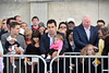 Crowds wait in anticipation of the Pope<br /> photo by Rob Rich/SocietyAllure.com © 2015 robwayne1@aol.com 516-676-3939