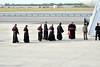 Catholic Bishops preparing to receive the Pope<br /> photo by Rob Rich/SocietyAllure.com © 2015 robwayne1@aol.com 516-676-3939